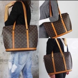 Authentic Giant tote bag by Louis Vuitton